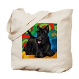 SCOTTISH TERRIER DOG art Tote Bag