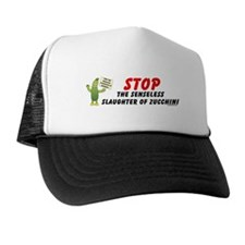 Save Zucchini Trucker Hat