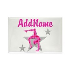 GORGEOUS GYMNAST Rectangle Magnet (10 pack)