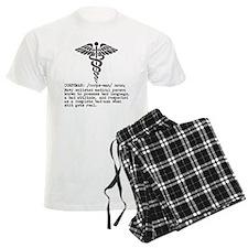 Corpsman definition (black) Pajamas