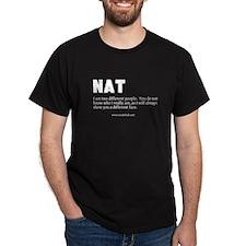 """N A T"" Network T-Shirt"