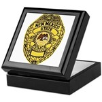 New Mexico State Police Keepsake Box