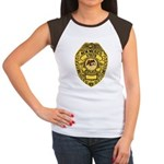 New Mexico State Police Women's Cap Sleeve T-Shirt