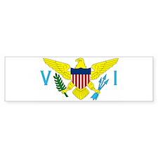 virginislandsflag2 Bumper Bumper Sticker