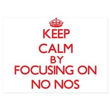 Keep Calm by focusing on No-Nos Invitations