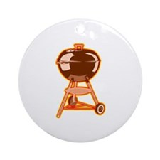 Hot Grill Ornament (Round)
