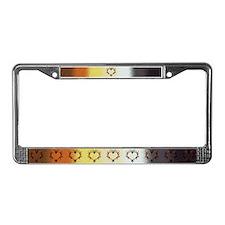 Flame'n BEAR Love - License Plate Frame