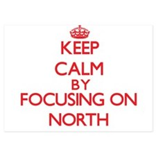 Keep Calm by focusing on North Invitations
