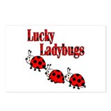Lucky Ladybugs Postcards (Package of 8)