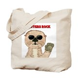 Otters Rock Tote Bag