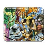 'The Gods Get Connected' Mousepad
