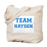 TEAM HAYDEN Tote Bag