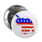 Republican GOP Logo Elephant Button