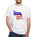 Republican GOP Logo Elephant White T-Shirt