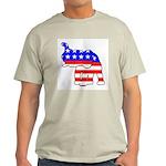 Republican GOP Logo Elephant Ash Grey T-Shirt