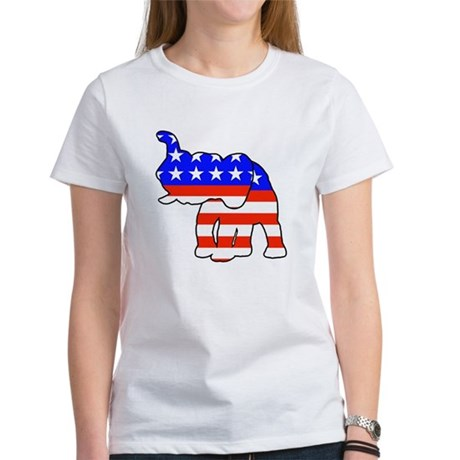 Republican GOP Logo Elephant Women's T-Shirt