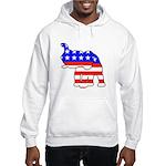 Republican GOP Logo Elephant Hooded Sweatshirt