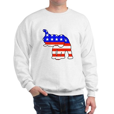 Republican GOP Logo Elephant Sweatshirt