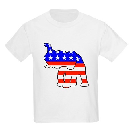 Republican GOP Logo Elephant Kids T-Shirt
