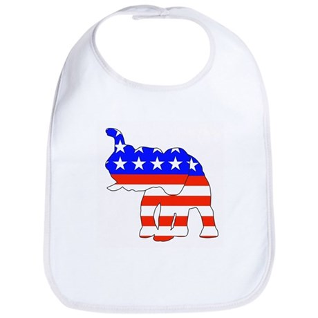Republican GOP Logo Elephant Bib