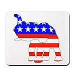Republican GOP Logo Elephant Mousepad