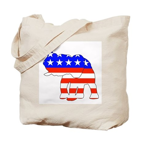 Republican GOP Logo Elephant Tote Bag