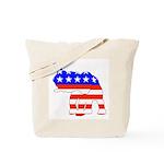 Republican GOP Logo Elephant Tote Bag