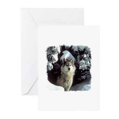 Winter Wolf Greeting Cards (Pk of 10)