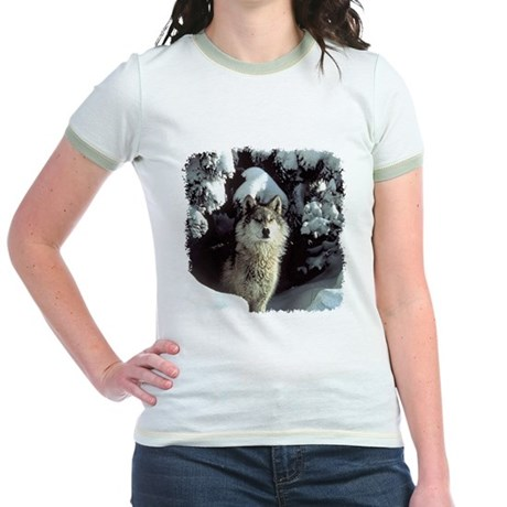 Winter Wolf Jr. Ringer T-Shirt