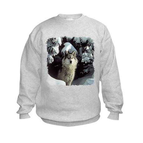 Winter Wolf Kids Sweatshirt