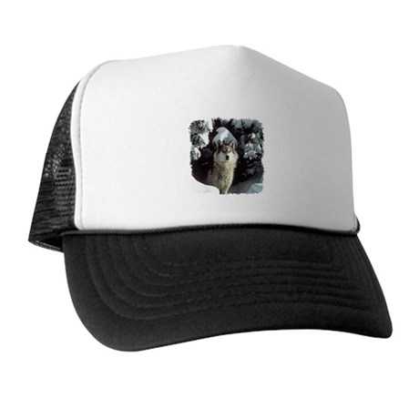 Winter Wolf Trucker Hat