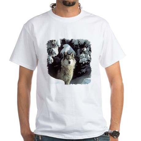 Winter Wolf White T-Shirt