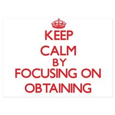 Keep Calm by focusing on Obtaining Invitations
