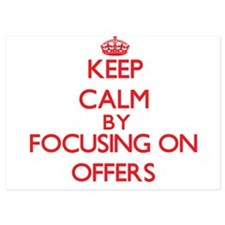 Keep Calm by focusing on Offers Invitations
