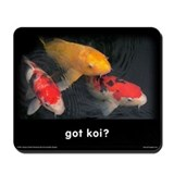 Cute Fishing Mousepad