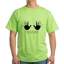 funny 50th birthday hands T-Shirt