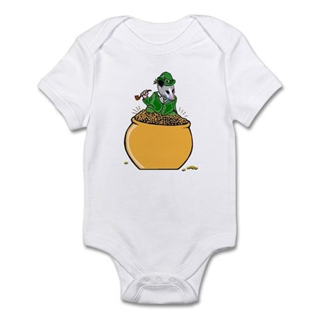 Possum Leprechaun Infant Bodysuit