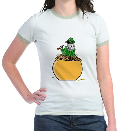 Possum Leprechaun Jr. Ringer T-Shirt