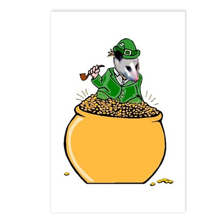 Possum Leprechaun Postcards (Package of 8)
