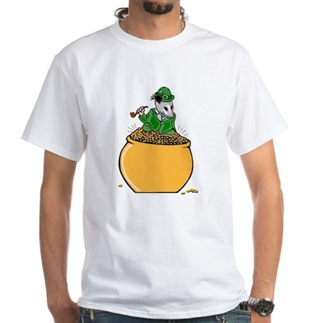 Possum Leprechaun White T-Shirt