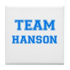 TEAM HANSON Tile Coaster
