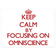 Keep Calm by focusing on Omniscience Invitations