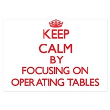 Keep Calm by focusing on Operating Tab Invitations