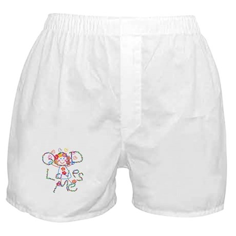 God Loves Me Boxer Shorts