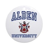 ALDEN University Ornament (Round)