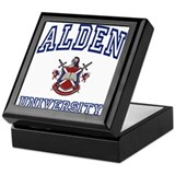 ALDEN University Keepsake Box