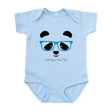 Cute Panda Blue Body Suit
