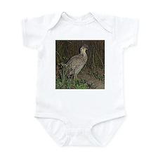 attwater prairie chicken Infant Bodysuit