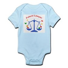 Future Lawyer Infant Creeper