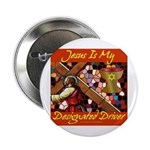 Jesus Designated Driver Button